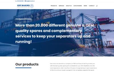 New KET Marine website online!