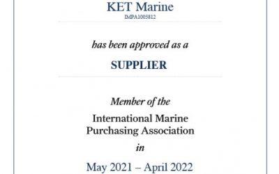 IMPA membership certificate